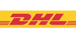 Bestellingen worden bezorgd door DHL